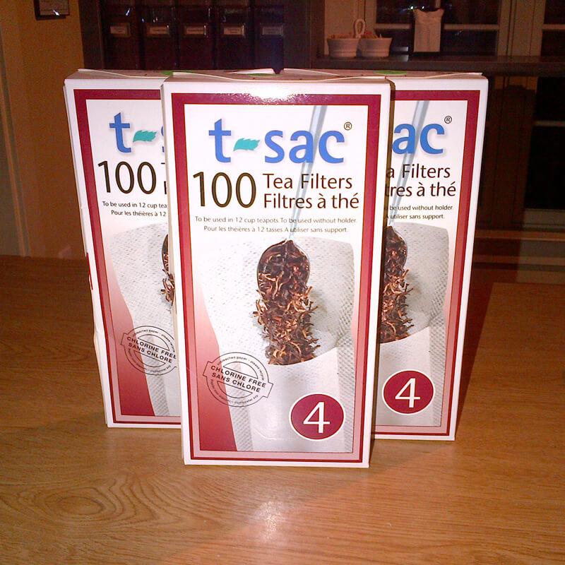 #4 T-Sac Tea Filter